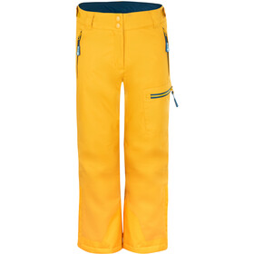 TROLLKIDS Hallingdal Pants Kids, golden yellow/mystic blue